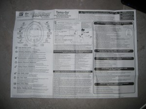 Notice d'utilisation du Tama-Go Tamatown.